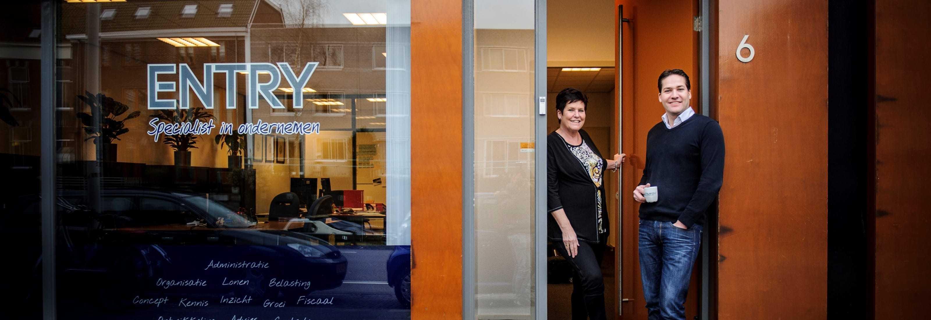 Entry - Administratiekantoor in Leiden