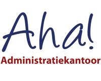 Logo van Aha! - Administratiekantoor