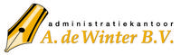 Logo van Administratiekantoor A. de Winter BV - Administratiekantoor in Katwijk aan Zee