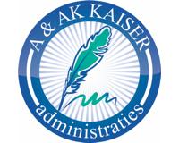 Logo van A & AK KAISER administraties BV - Administratiekantoor