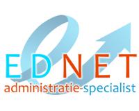 Logo van Ednet administratie-specialist - Administratiekantoor