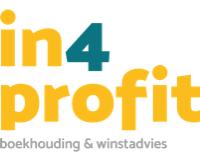 Logo van In4Profit | boekhouding & winstadvies - Administratiekantoor