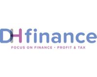 Logo van DH finance - Administratiekantoor