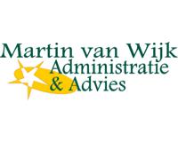Logo van Martin van Wijk Administratie & Advies - Administratiekantoor