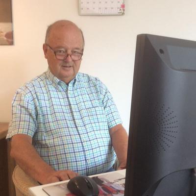 Antonie Schets - gepensioneerd controller in Leidschendam